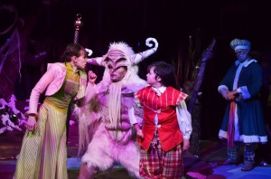 A scene from Short North Stage's production of Krampus, a Yuletide Tale (photo courtesy of Short North Stage)