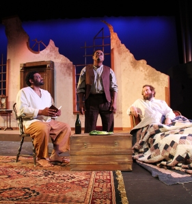Christopher Austin, Bryant Bentley and Chris Tucci (from left) in The Whipping Man  (photo by Matt Hermes)
