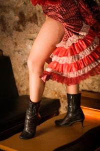 One of the dancers from Danny's nightclub in The Merry Widow (photo courtesy of CAPA)