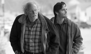 Bruce Dern (left) and Will Forte play a father and son who hit the road in Nebraska