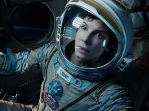 Sandra Bullock in Gravity, which Columbus critics named the year's best film (Warner Bros. Pictures)