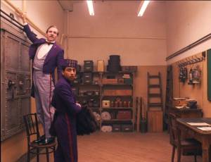 M. Gustave (Ralph Fiennes, left) and Zero (Tony Revolori) in The Grand Budapest Hotel (Fox Searchlight Pictures)