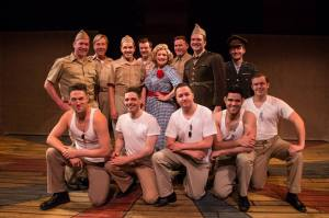 The cast of Yank! The Musical (photo by Jerri Shafer)