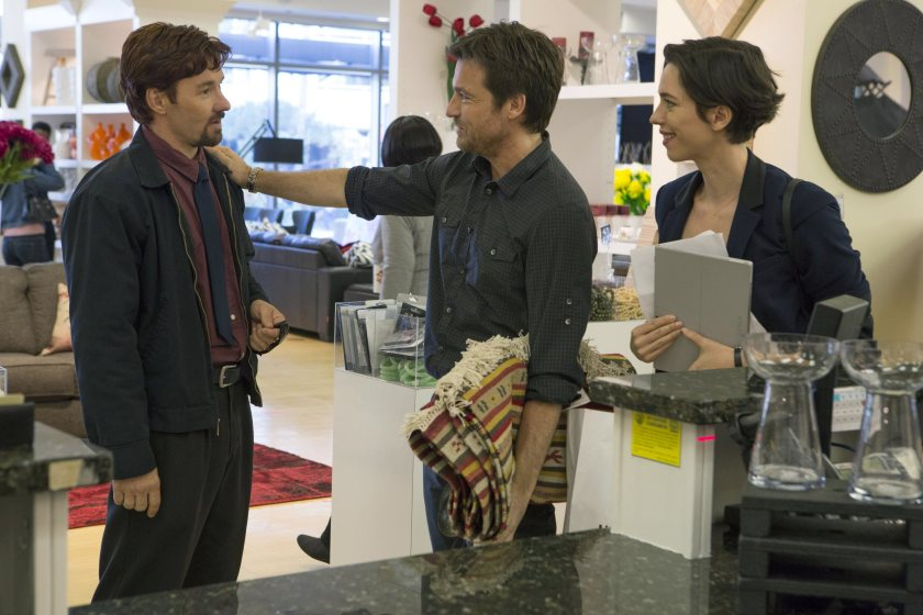 Joel Edgerton, Jason Bateman and Rebecca Hall (from left) in The Gift (photo by Matt Kennedy/STX Productions LLC)