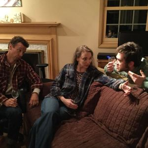 James Harper, Beth Josephsen and Danny Turek (from left) in Devotion (A&B Theatrical photo)