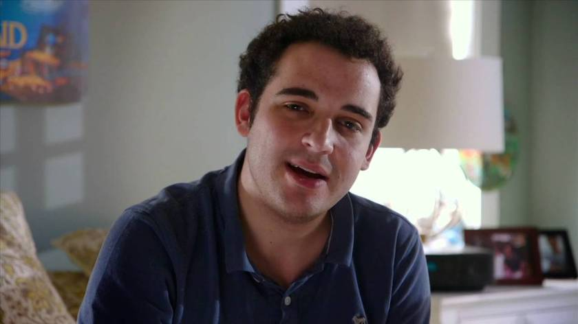 Owen Suskind, whose struggle to reconnect with the world is the subject of Life, Animated.