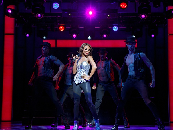 Deborah Cox as Rachel Marron in The Bodyguard (Photos by Joan Marcus)