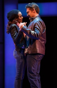 Rachel (Deborah Cox) and bodyguard Frank Farmer (Judson Mills) decide to give romance a try.