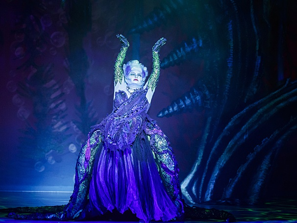 Jennifer Allen as the villainous Ursula